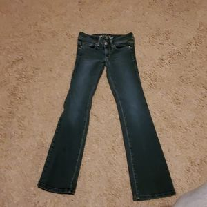 American eagle jeans size 2.